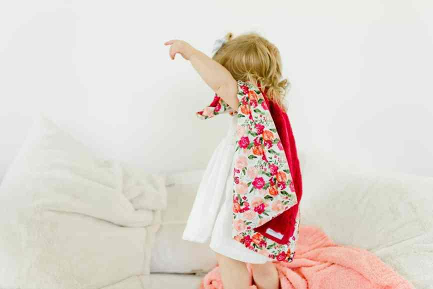 Lush Blanket in Full Satin Back