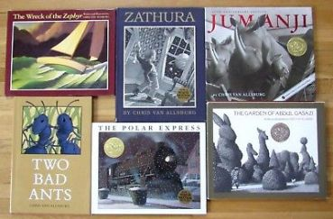Chris-Van-Allsburg-books