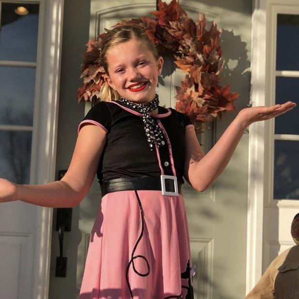 Sophie at Halloween