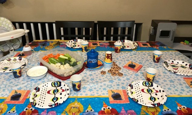 Cookie Monster themed party