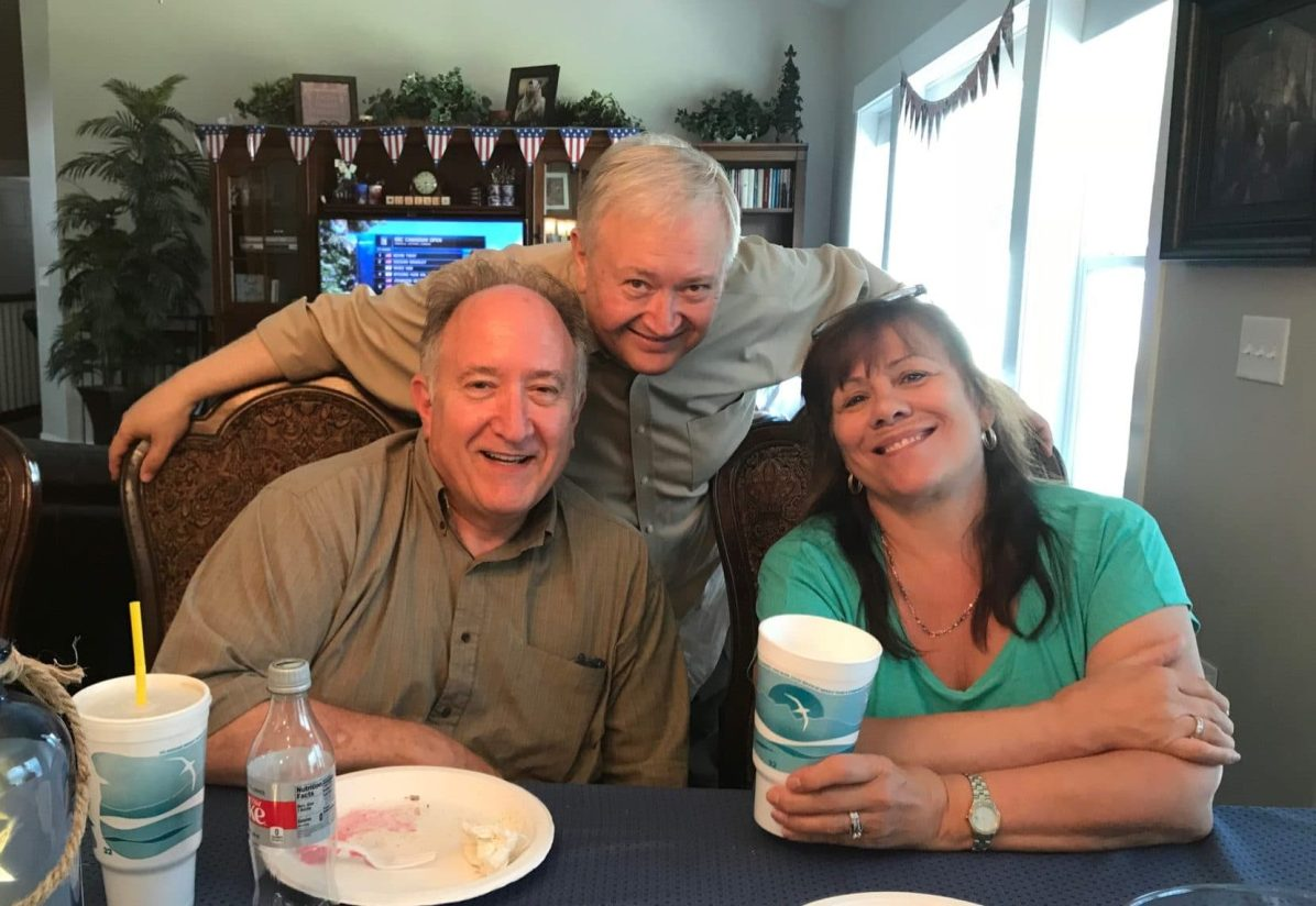 Richard, Roger, and Jan