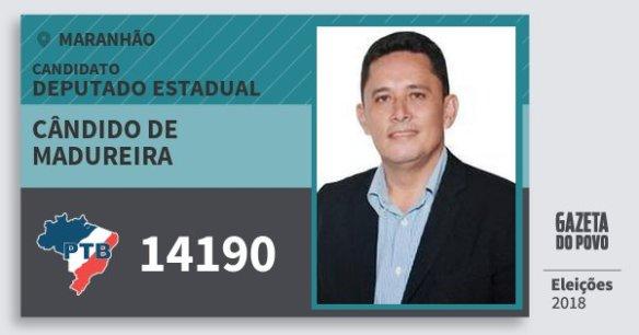 Resultado de imagem para CÂNDIDO DE MADUREIRAPTB