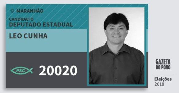 Resultado de imagem para LEO CUNHA doPSC