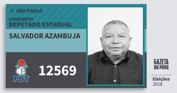 Resultado de imagem para Salvador Azambuja (PDT)