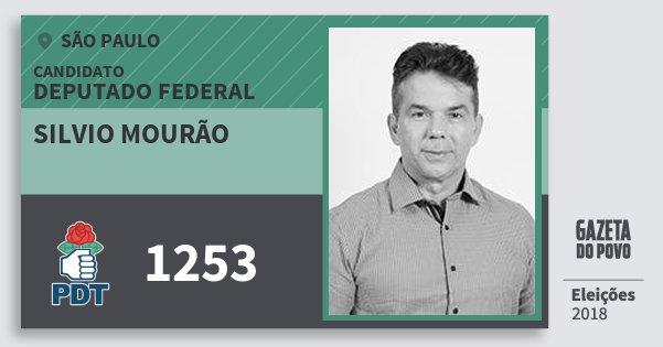 Resultado de imagem para Silvio Mourão (PDT)