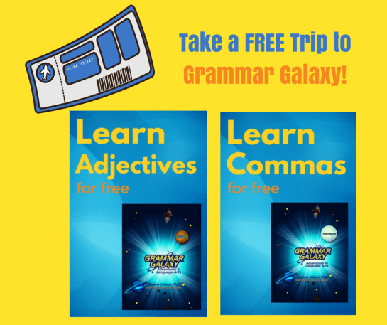 Take a free trip to Grammar Galaxy with sample lessons.