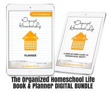 The Organized Homeschool Life Book / Planner BUNDLE – DIGITAL