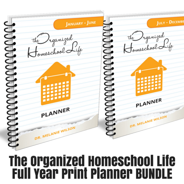 The Organized Homeschool Life Planner Bundle