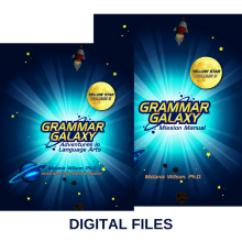 Grammar Galaxy Yellow Star DIGITAL Kit (Text & Mission Manual)