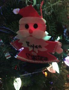 Ryan Hicks - Christmas Ornament