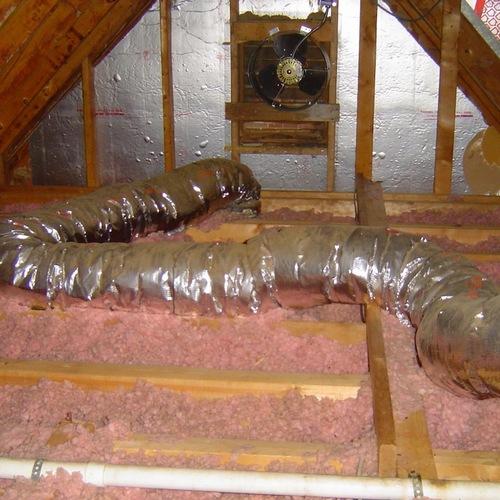 powered attic ventilators