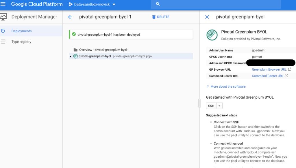 Install Greenplum Database on GCP! | Greenplum Database