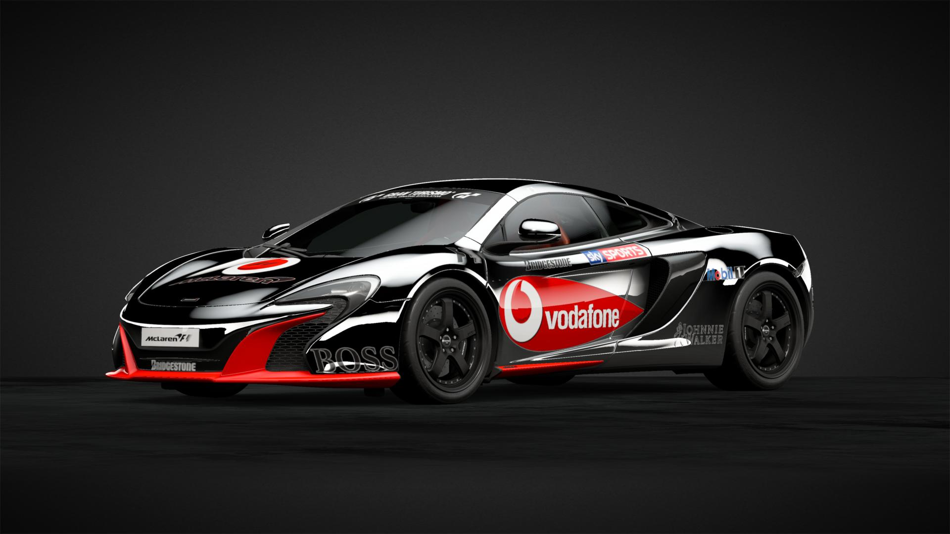 Vodafone Mclaren F1 Inspired Car Livery By Lord Of Da Memes