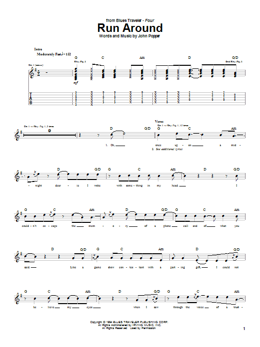 Blues Traveler Hard To Say Chords | Mysummerjpg.com