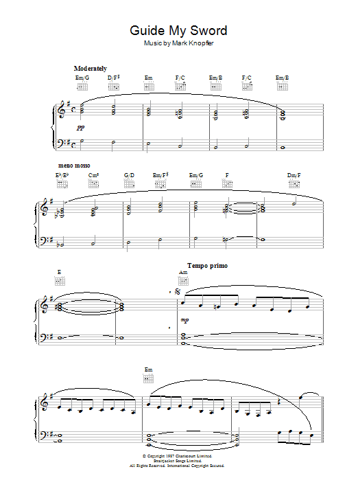 Guide My Sword From The Princess Bride Sheet Music Direct