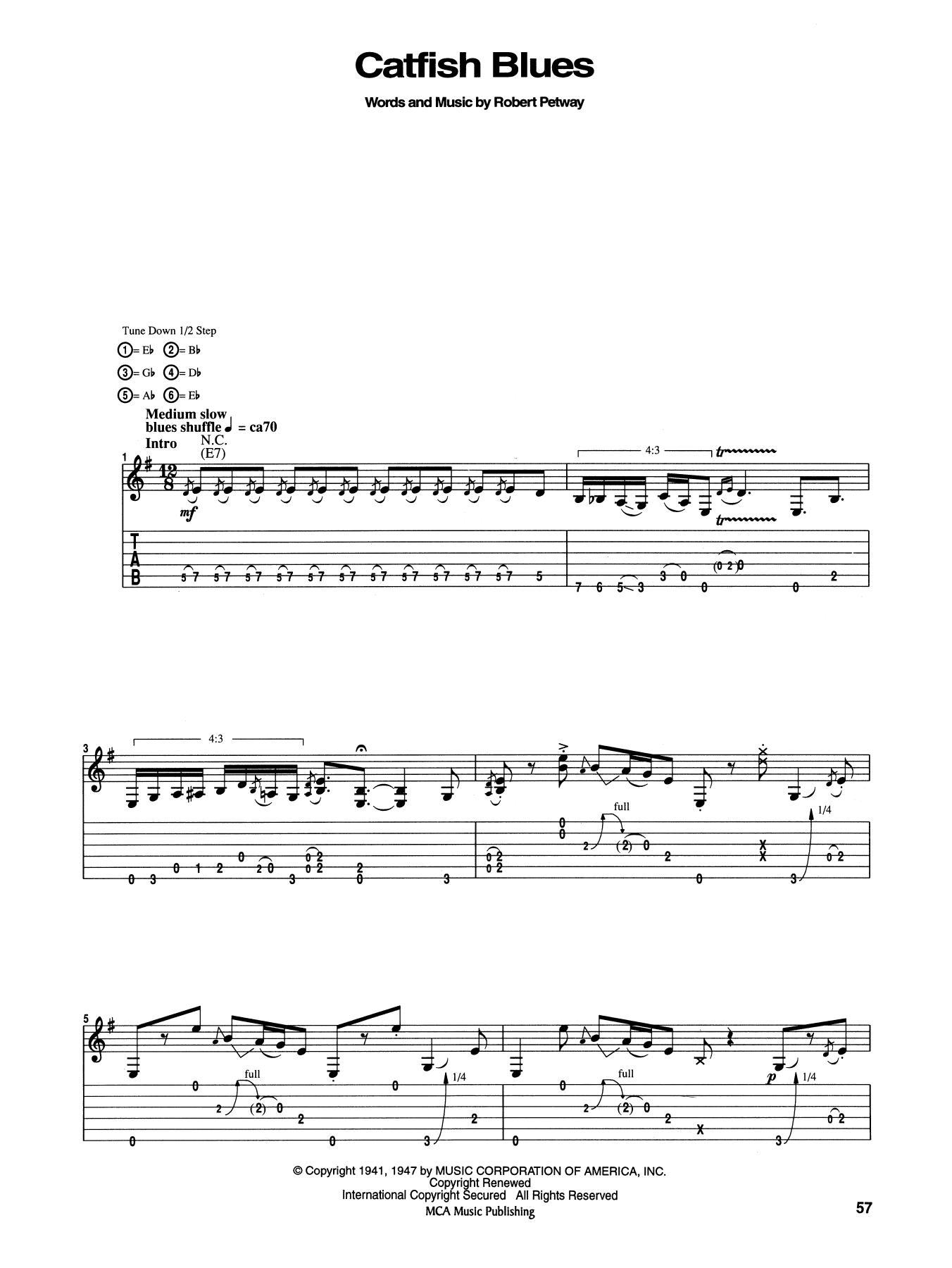 Catfish Blues By Jimi Hendrix