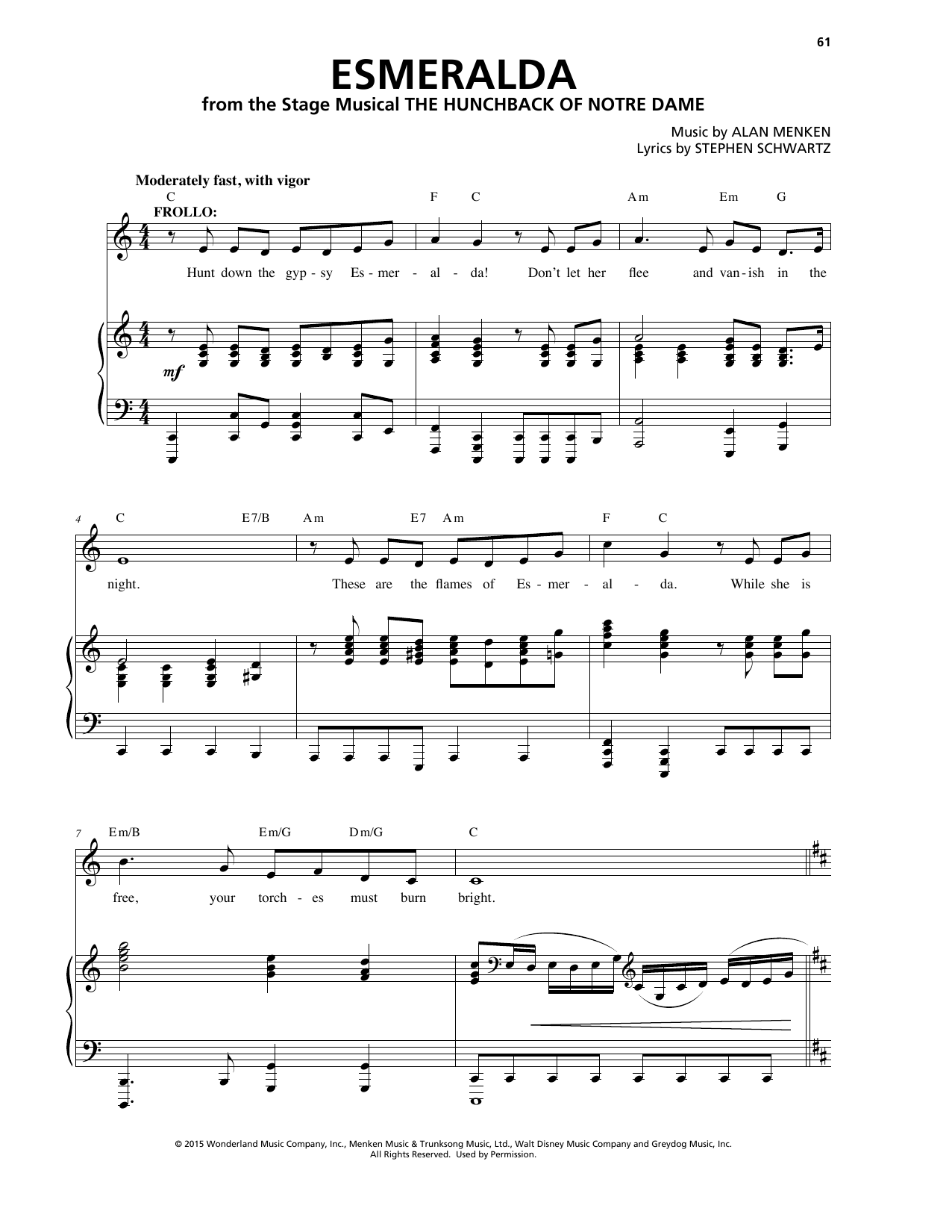 Esmeralda Sheet Music