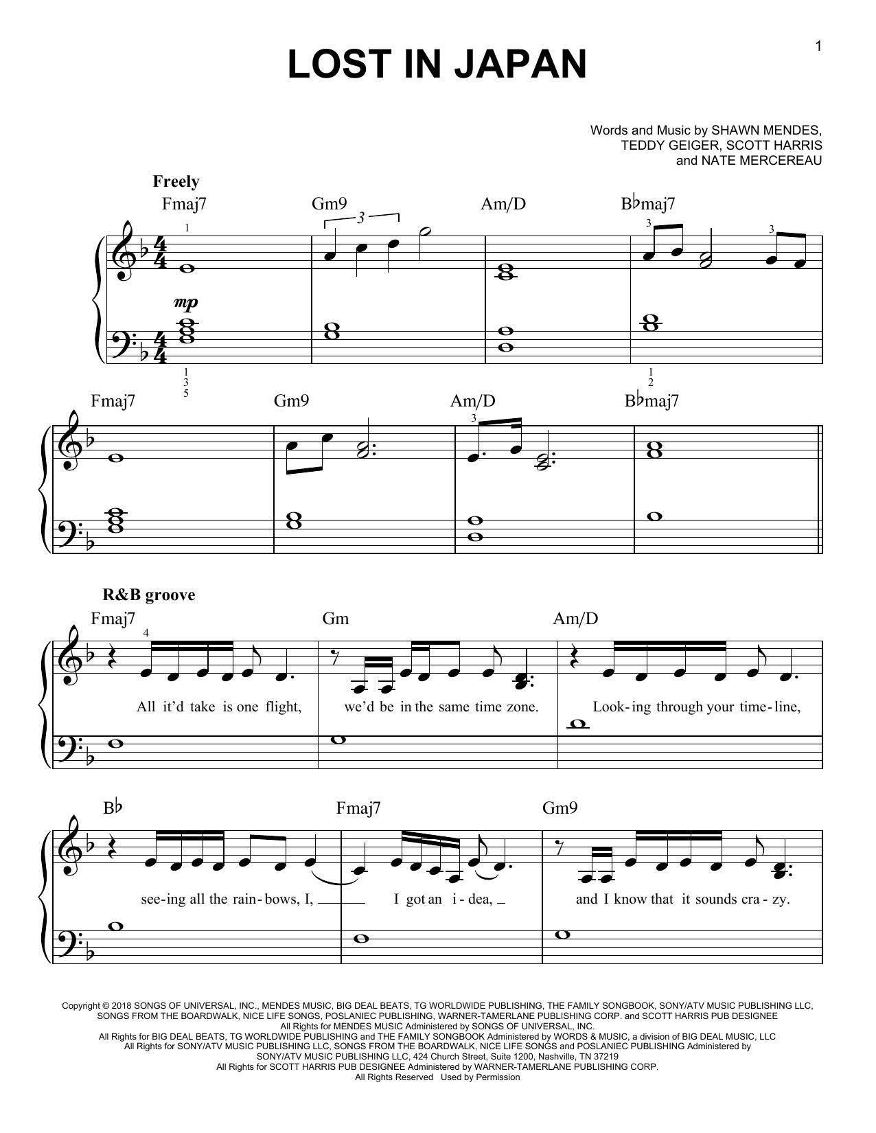 Japanese Music Worksheet