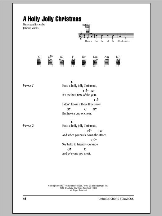 I Wanna Wish You A Merry Christmas Ukulele Chords Christmaswalls