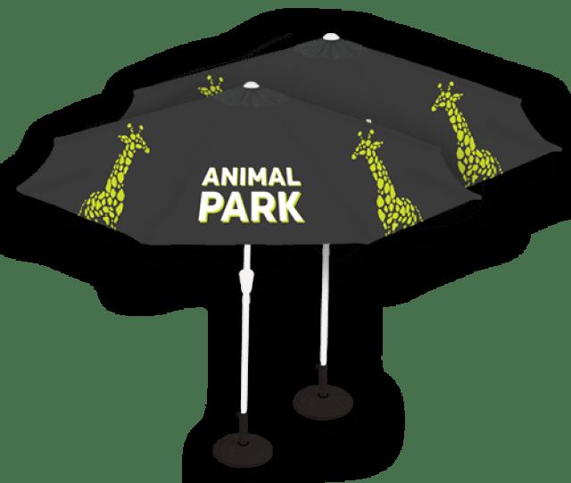 Custom Printed Umbrella Canopies