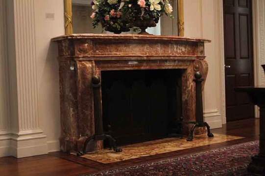Historic Fireplace Rediscovered At BC Law Library