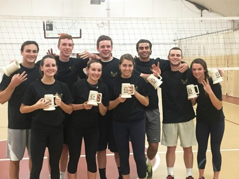 'Three-Peat' Champion Intramural Volleyball Team Eyes Fourth Title
