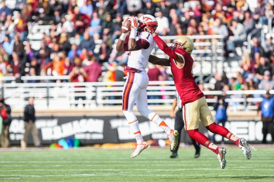 BC Offense Can't Get Any Momentum In Virginia Tech Rout