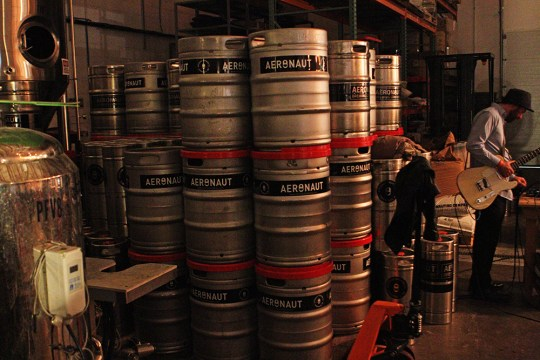 Hops Take Flight At Aeronaut Brewery