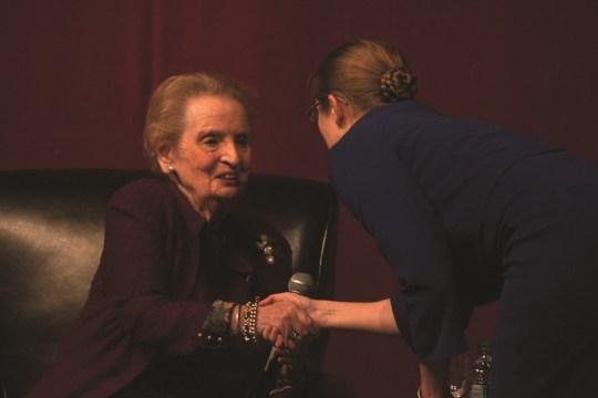 Madeleine Albright At Robsham On Speaking Up And Interrupting