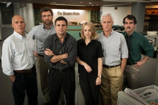 Keaton, Ruffalo Shine As Investigative Journalists In 'Spotlight'