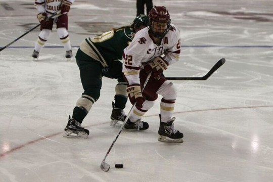 Women's Hockey Breaks Program Record With 26th Straight Win