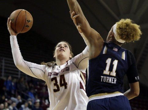 Fasoula Drops 20, But Women's Basketball Falls To No. 3 Notre Dame