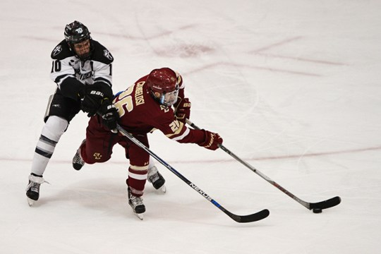 Eagles Come Back At Schneider Arena, Earn Tie Against Providence