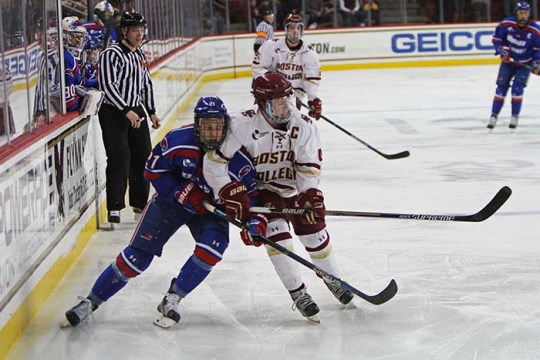 Penalty Kill Powers Eagles to Win Over UMass Lowell