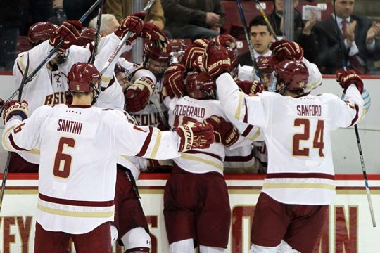 Eagles Clinch No. 1 Seed, Share of Regular Season Title With Win Over UMass Lowell