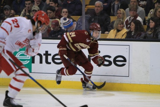 Notebook: Eagles Grind Out Beanpot Win Over Rival BU