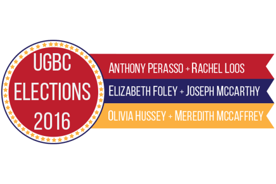 UGBC Candidates Include Outsiders and Current Vice President