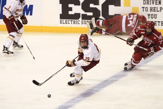 BC Capitalizes on Power Play Opportunities to Return to the Beanpot Final