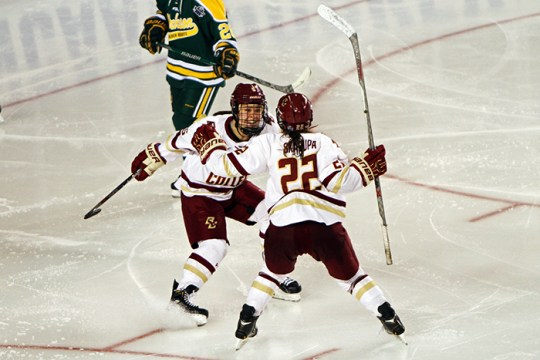 Haley Skarupa Buries OT Winner As BC One Win Away From Title