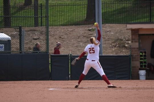 Dreswick Hurls No-Hitter as Softball Sweeps NC State