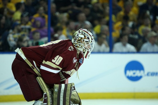Thatcher Demko Officially Signs with Vancouver Canucks