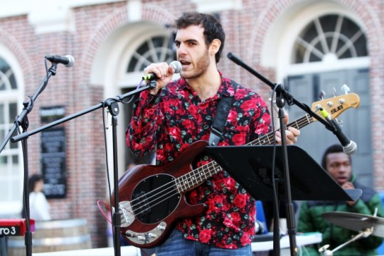 BC's Music Guild Enraptures Faneuil Hall with Break the Bubble 2