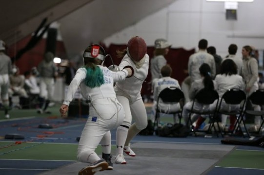 Fencer Renee Bichette Has Made a Name for Herself at BC