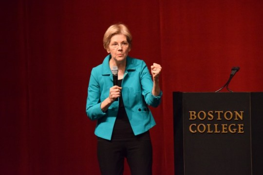 Warren Talk Demonstrates Need for More Event Publicity