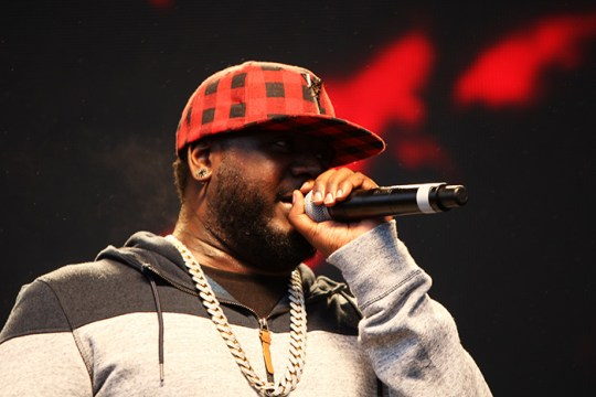 While Modstock Turns to Mudstock in Rain, T-Pain Dazzles Persistent Attendees