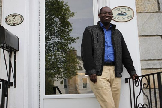 Rwandan Jesuit and Ph.D Student Finds Home at BC