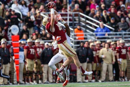 Tommy Sweeney Plans to Make the Tight End A Big Role in BC's Offense