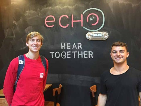 EchoME, Founded by BC Grads, Recognized At HUBweek Event