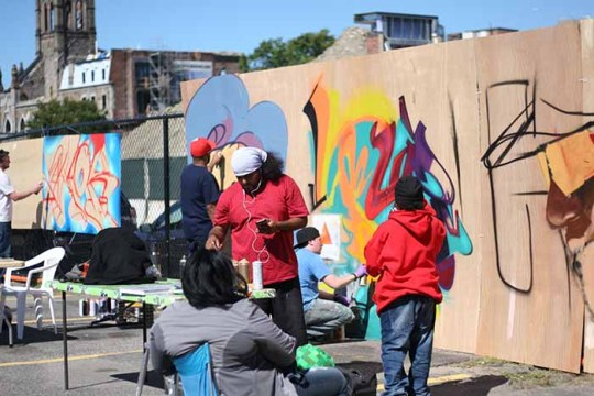 OFF THE WALL Uncovers an Energetic Boston Graffiti Scene