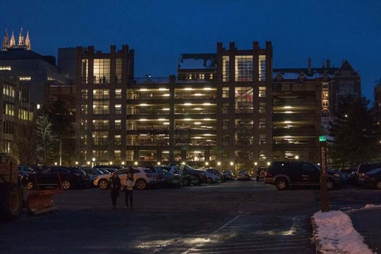 For Students With On-Campus Parking, a Construction Problem